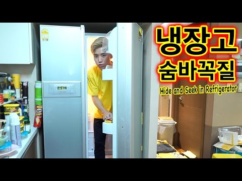 Can you try hide and seek in refrigerator ?