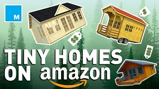 Coolest Tiny Homes You Can Buy On Amazon