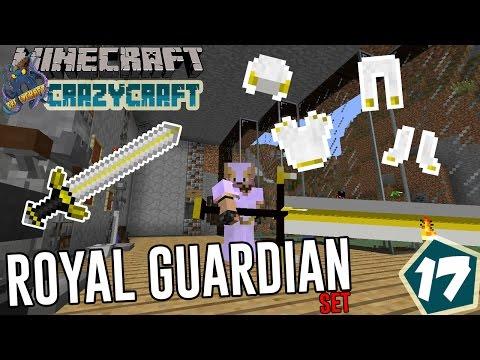 ROYAL GUARDIAN SET!!! ~ Crazycraft Modpack Indonesia ep.17