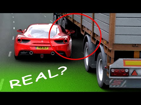 The Truth | Ferrari Under Truck.