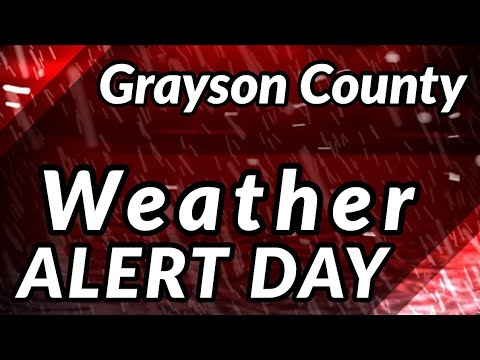 WEATHER ALERT DAY SEVERE WEATHER COVERAGE 1/11/2020
