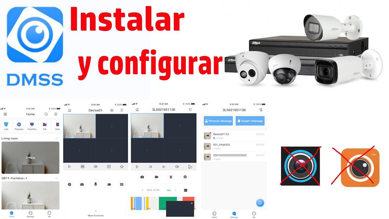 DMSS Dahua configurar y añadir DVR NVR Dispositivos
