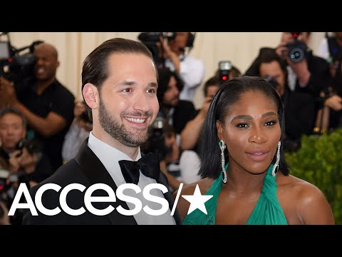 Serena Williams' Husband Alexis Ohanian Puts Up Billboards Feat. Their Baby To Cheer Her On! | Acces