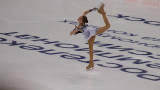 Alexandra Trusova - Russian Nationals 2020 - SP - alt. angle
