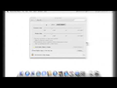 Pro Tools Mac OS X 10.8 Optimizations - Optimize Energy Saver