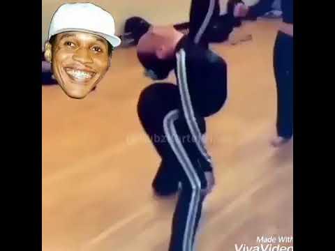 Baby dancing to vybz kartel Mmm Mmmm