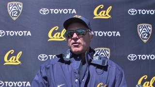 Cal Football Spring Practice: Defensive Coordinator Tim DeRuyter April 8, 2017