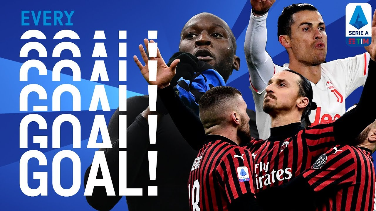 Battle Of The GIANTS: Lukaku, Zlatan and Cristiano On Target | EVERY Goal R23 | Serie A TIM
