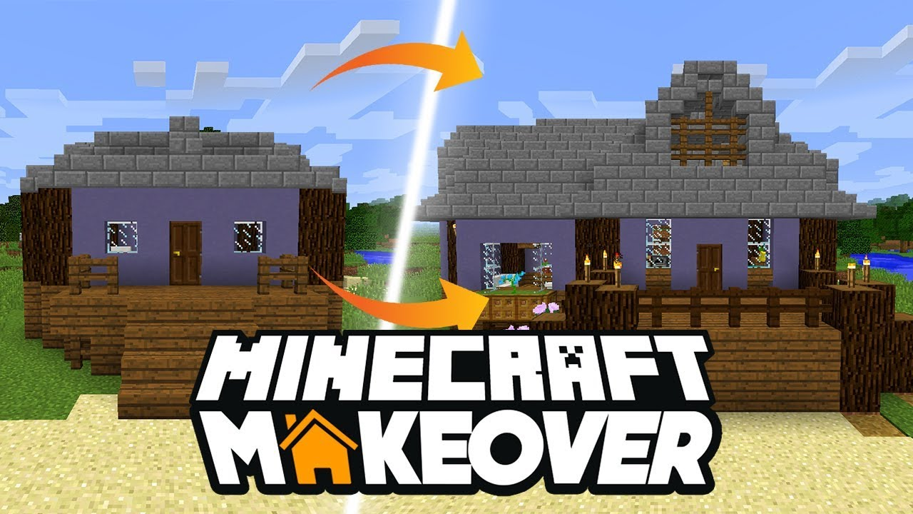 Making Over Your Houses Minecraft Makeover Ep 1