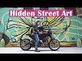Hidden Graffiti Alley | Urbex Moto Vlog
