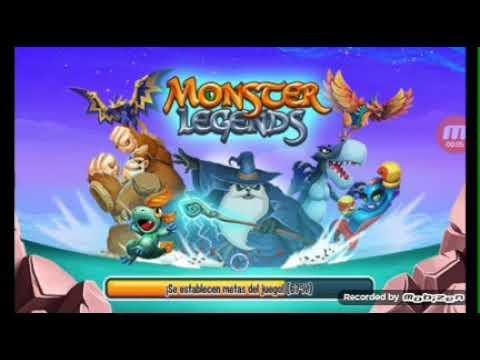 jugando  monster legend