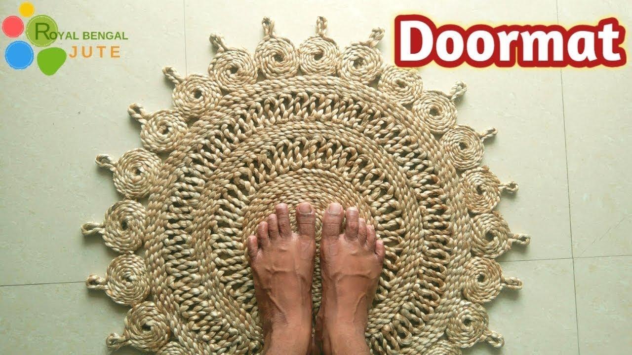 Diy Jute Door Mat Handmade Make At