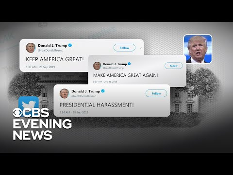 "Trump tweets about ""do nothing Democrat savages"" and ""presidential harassment"""