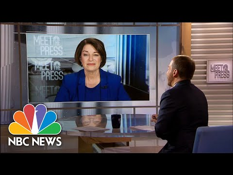 Full Klobuchar: Bloomberg 'Just Can't Hide Behind The Airwaves' | Meet The Press | NBC News