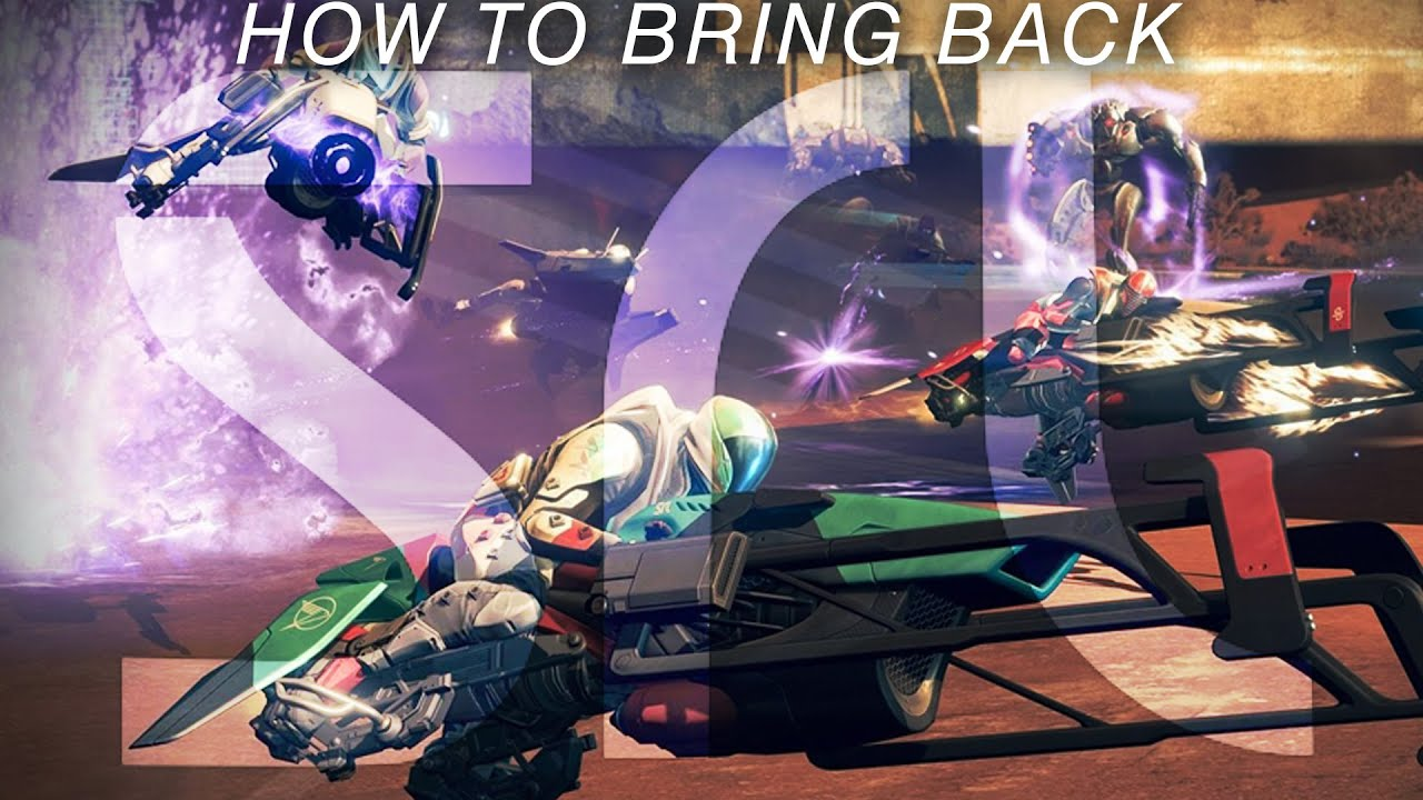 How Destiny 2 Should Bring Back Sparrow Racing (SRL) - Spoiler Alert: It Would Be AMAZING!!!