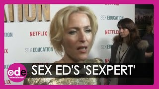 Sex Education: Gillian Anderson has WHAT in her house?!