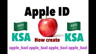 How to create Apple ID KSA Hindi | New Update