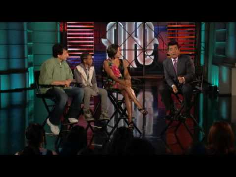 Jackie Chan & Jaden Smith Dancing - Lopez Tonight (6/16/2010)