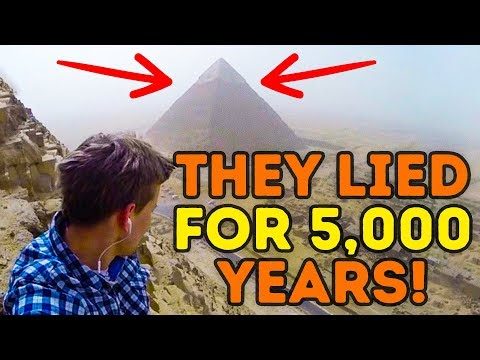 Thumbnail: The Great Pyramid Mystery Has Finally Been Solved