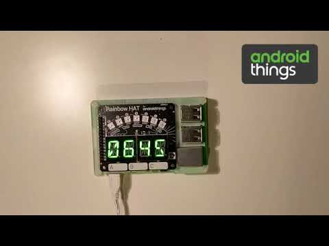 Android Things - I2C Output - Countdown