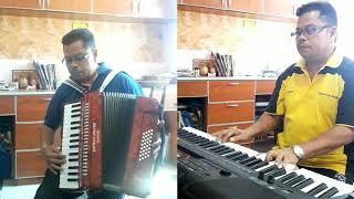 Download Seribu kali Sayang  - Iklim  - Accordian ft Piano Cover