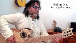 Learn Paco de Lucia`s Style Motif por Tanguillo /Ruben Diaz Flamenco Guitar Lesson Malaga / CFG