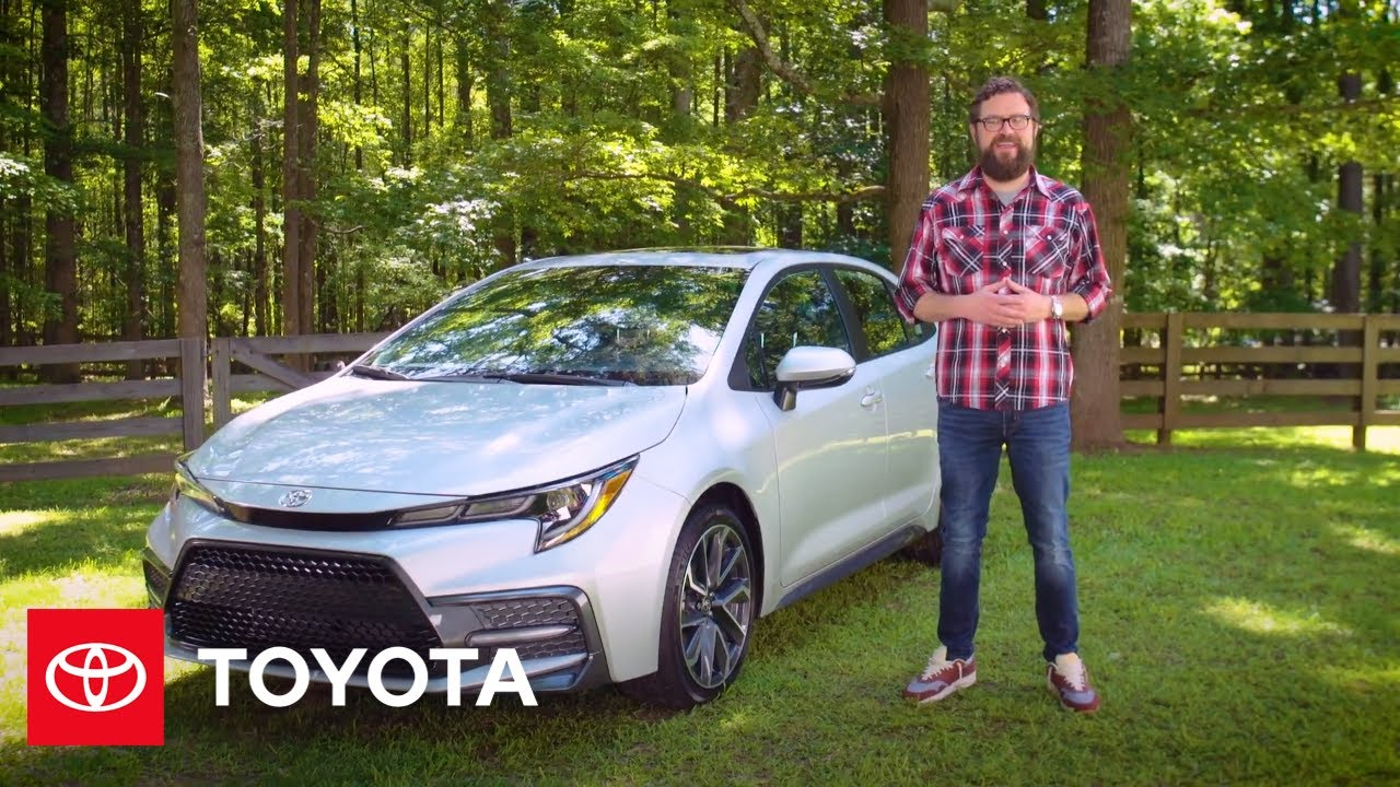 What's New in the Latest Corolla? | 2021 Corolla Features | Toyota