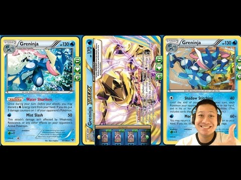 1 Energy Wonder Greninja BREAK Deck Sniping Off Heavy Hp Pok