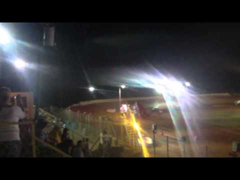 Nick Deitz's Crate Main Event @ Modoc Speedway 9/22/13