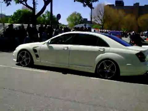 Matte white all new fab design 2010 mercedes benz s65 amg for New white mercedes benz