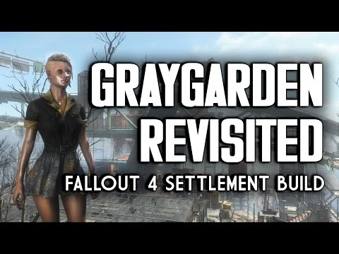 "Graygarden Revisited - ""Lived-in"" Settlement Build in Fallout 4"