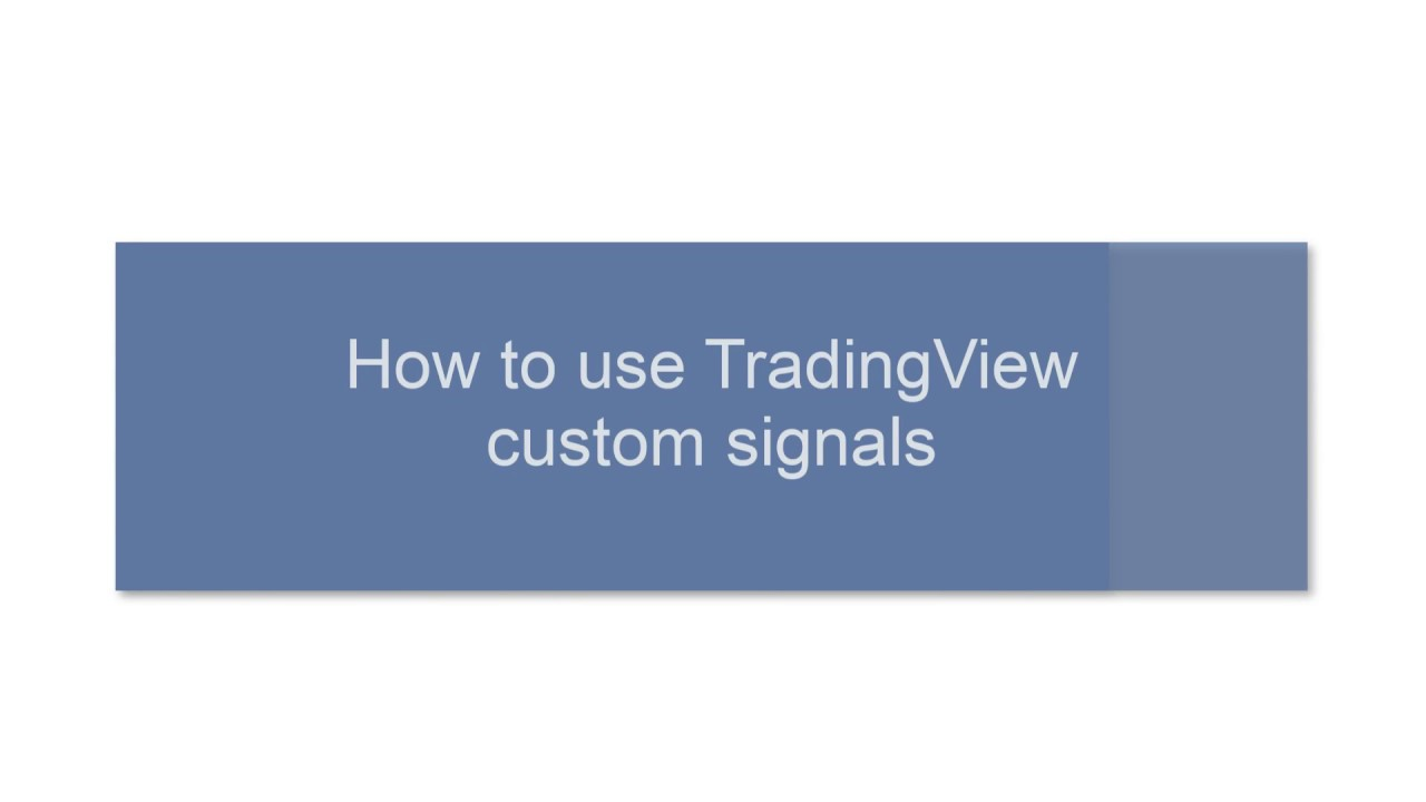 10 08 18] How to use TradingView Custom Signals – 3Commas Help Center