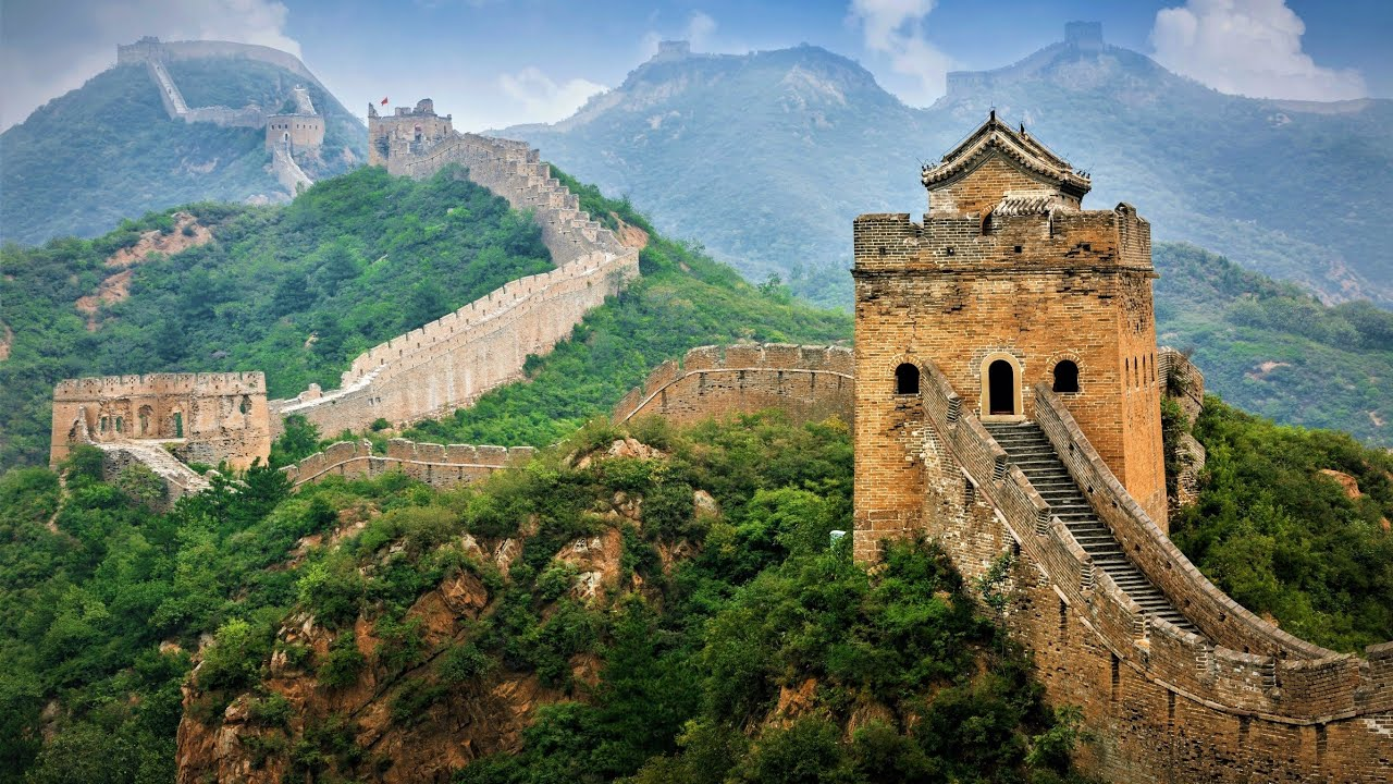 The Great Wall of China: History And Facts! - YouTube