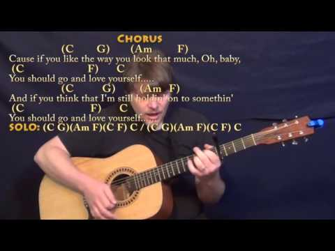 Ukulele ukulele chords for love yourself : Love Yourself (Justin Bieber) Strum Guitar Cover Lesson with ...