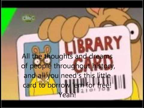 Arthur: Library Card Lyrics