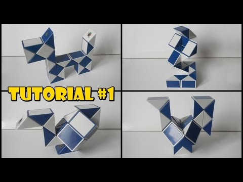 rubik snake ball instructions step by step