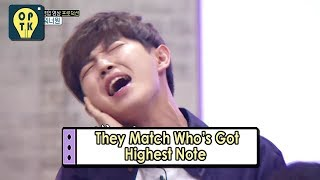 Video [Oppa Thinking - Wanna One] They Matches Who's Got Highest Note 20170911 download MP3, 3GP, MP4, WEBM, AVI, FLV Mei 2018