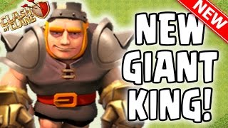 "Clash Of Clans | NEW HERO ""GIANT KING"" 
