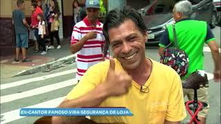 Ex-cantor sertanejo vira segurança de loja no centro de São Paulo