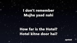 50 Hindi Sentences 02 Learn Hindi through English