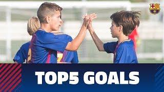 FCB Masia – Academy: Top 5 goals 10-11 February