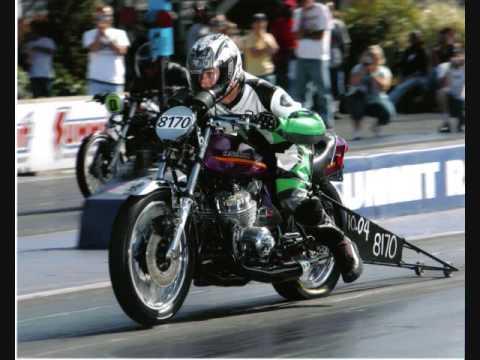 Kawasaki H2 Triple Super Eliminator Dragbike 2008 Youtube