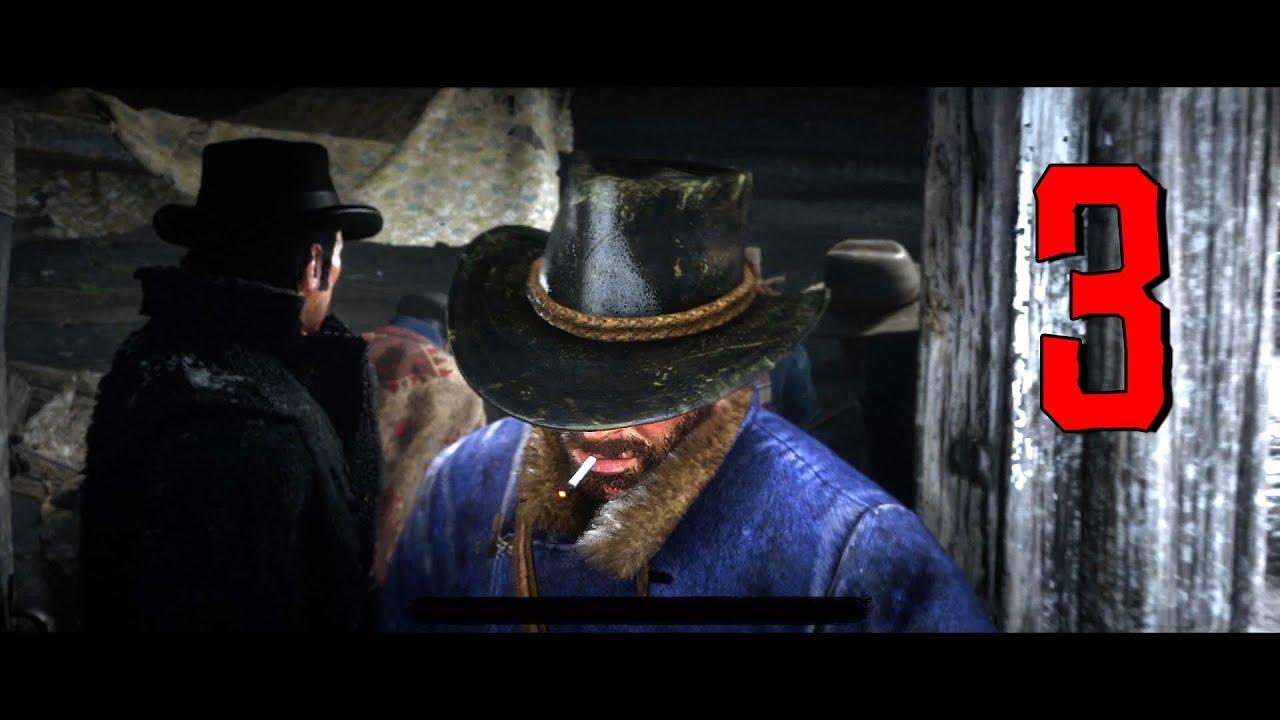 Red Dead Redemption 2 Gameplay Walkthrough Part 3 - Old Friends