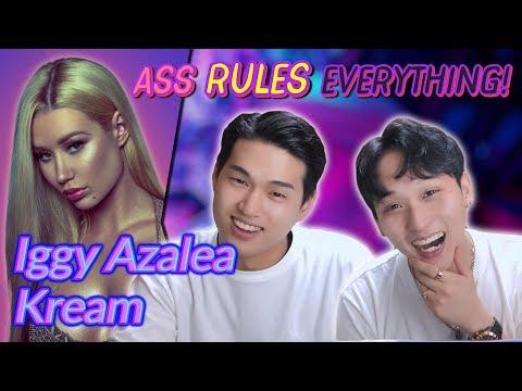 K-pop Artist Reaction Iggy Azalea - Kream ft Tyga