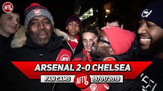 Arsenal 2-0 Chelsea | TY Rips Into Chelsea Fan After Win!