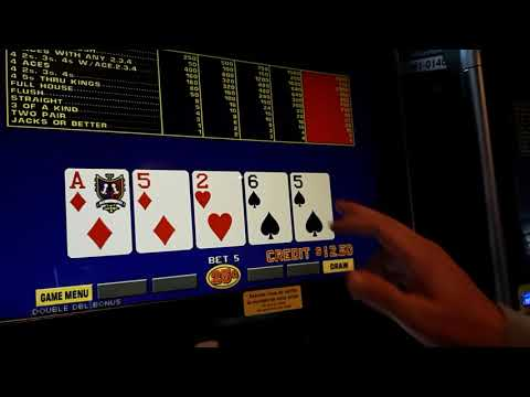 Game King Double Double Bonus Poker - Live Play