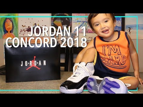 dd5fdc82efdc Kicksvision   A First Unbox Video at Air Jordan 11 Concord