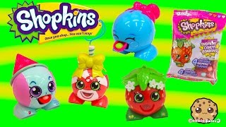 Shopkins Season 1 RADZ Candy Dispensers Collection Unboxing Toy Video - Cookieswirlc