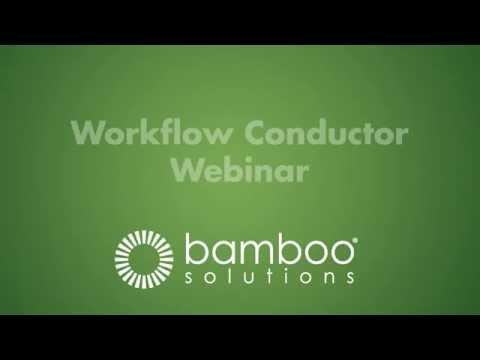 SharePoint Workflow Conductor (Bamboo Webinar)