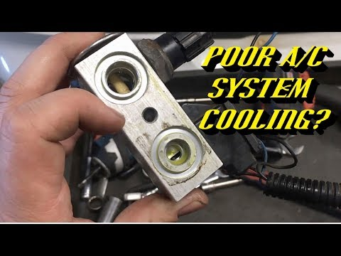 3 Common Signs Your TXV has Failed Causing Poor A/C System Cooling